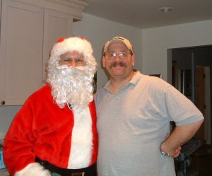 It's bad when Santa thinks you are chubby.....