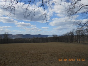 View Towards the Hudson