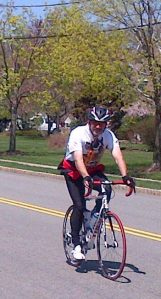 Me, On the 50 mile ride this weekend