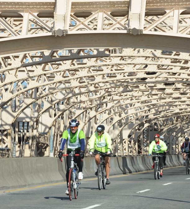 Crossing the Queensboro Bridge