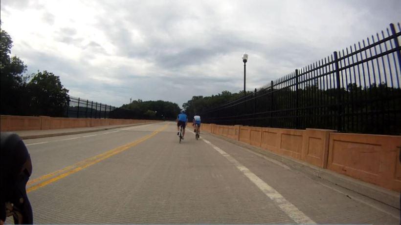 Crossing the Reservoir Bridge