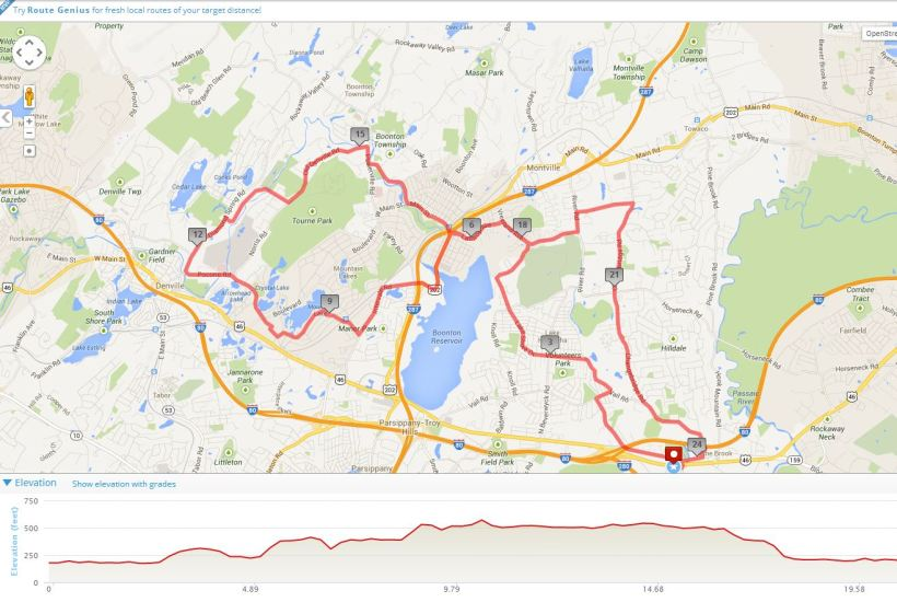 a fun ride today, hilly, hot, and humid but much fun....
