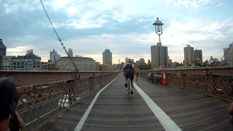 Approaching Brooklyn